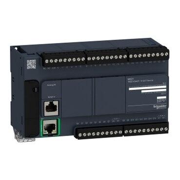 TM221CE40T controller M221 40 IO transistor PNP Ethernet