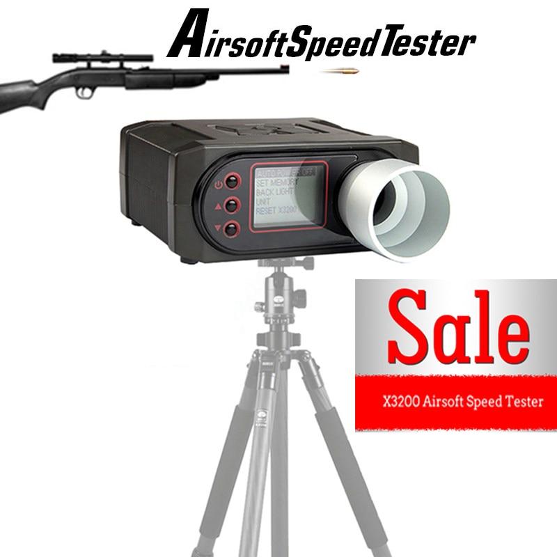 X3200 съемки Хронограф Airsoft воздуха bb пушки Chrono chrony 7-0001 ...
