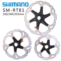 SHIMANO DEORE XT SM RT81 ice Point Technology Brake Disc Center lock technology ROAD Mountain Bikes Disc Rotor 203mm 180mm 160mm