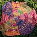 The most Round Hippie Tapestry Beach Throw Roundie Mandala Towel Yoga Mat Bohemian