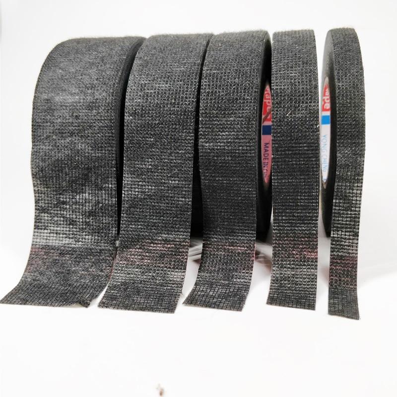 Tesa Тип Coroplast клейкая лента из ткани для жгута проводов Ширина 9/15/19/25, маленького размера, круглой формы с диаметром 32 мм Length15M