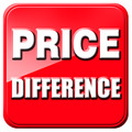 Price Difference Extra Fee For Print or Difference or Different Requires