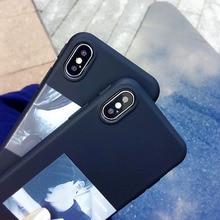 Фотография For iphone 6 case korean beautiful girl and handsome boy TPU soft back cover for iphone X case for iphone 7 8 back cover