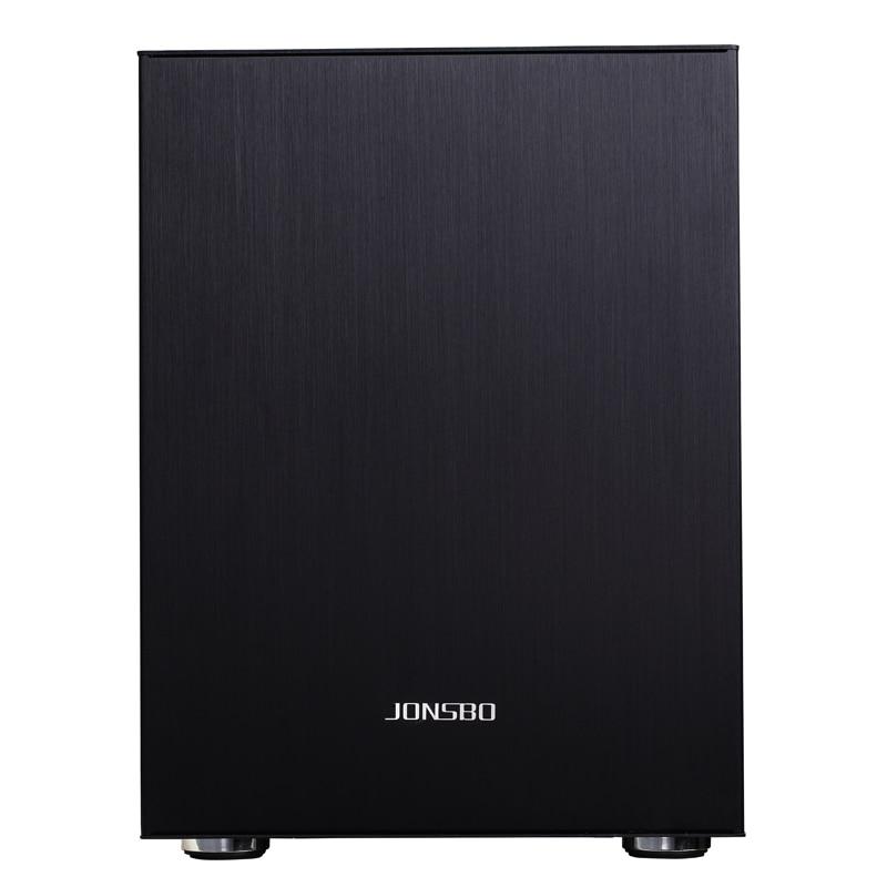 Jonsbo C2 C2S Desktop Mini PC Case Computer Chassis IN Aluminum Alloy HTPC Case USB 3.0 High Quilty Hot Sale Black 1