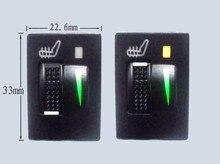 Interrupteur chauffant pour siège voiture 12V
