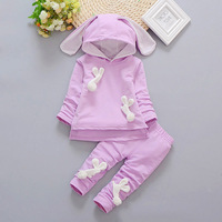 2017 Autumn Winter 1 Set Baby Girls Sweater Clothes T Shirt Pants 2pc Outfit Suit Cute