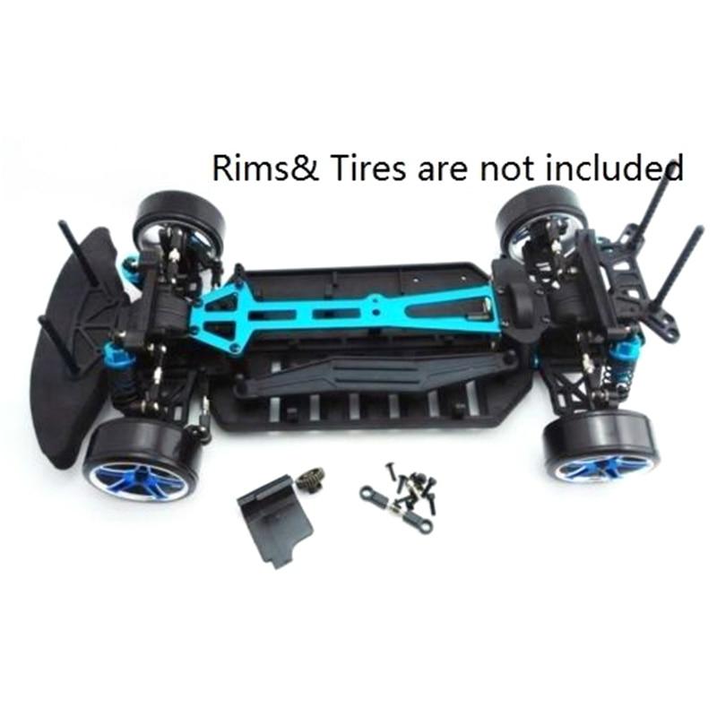 1/10 Plastic Body Frame For HPI 1:10 RC RTR Pro HSP Racing On-Road Drift Car Model Frame Kit