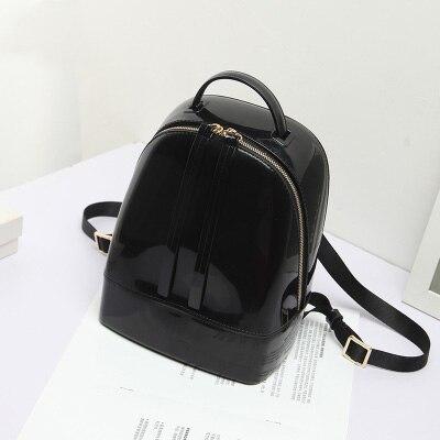 mini backpacks for teenage girls 2017 hot backpack beach bag transparent women bag pvc Silicone jelly