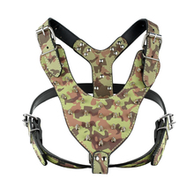 Camouflage Army Collar and Harness Adjustable Spiked – Pitbull Gear Harness
