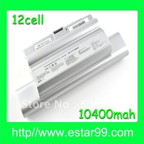 Free Shipping&10400mAH for Sony Battery VGP-BPL8A Vaio FZ VGP-BPS8 BPS8