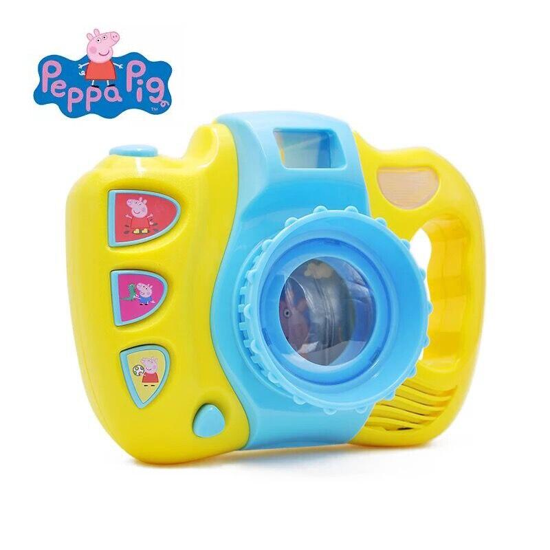 Cámara de fotos Peppa Pig con música e  imágenes