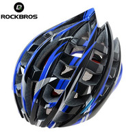 RockBros Red Helmet Unisex Road Bike MTB Cycling Helmet 57cm 62cm Bicycle Cycling Helmet Include Visor