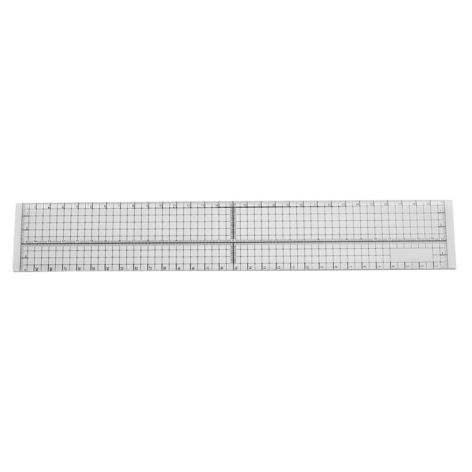 Top Quality 30cm DIY Sewing Patchwork Foot Aligned Ruler Quilting Grid Cutting Tailor Craft