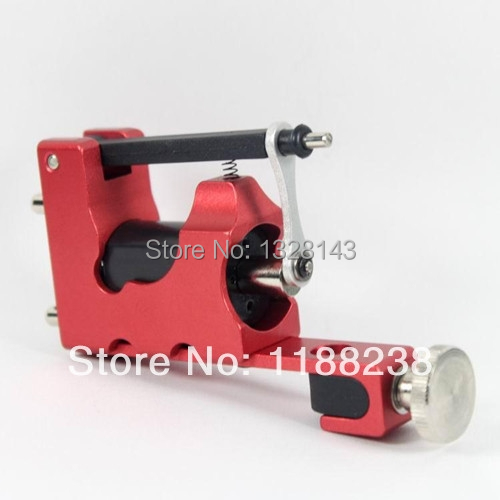 STEALTH ROTARY Aluminum Rotary Tattoo Machine Strong Consistent  Power for Shader & Liner Red one
