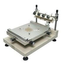SOLDER PASTE เครื่องพิมพ์ซิลค์สกรีนการพิมพ์ ZB3040H SINGLE Double Sided Circuit Board วาง