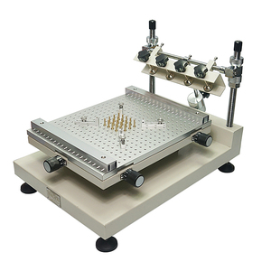 Image 1 - Solder Paste Printer Silkscreen Printing Machine ZB3040H Single Double sided Circuit Board Paste