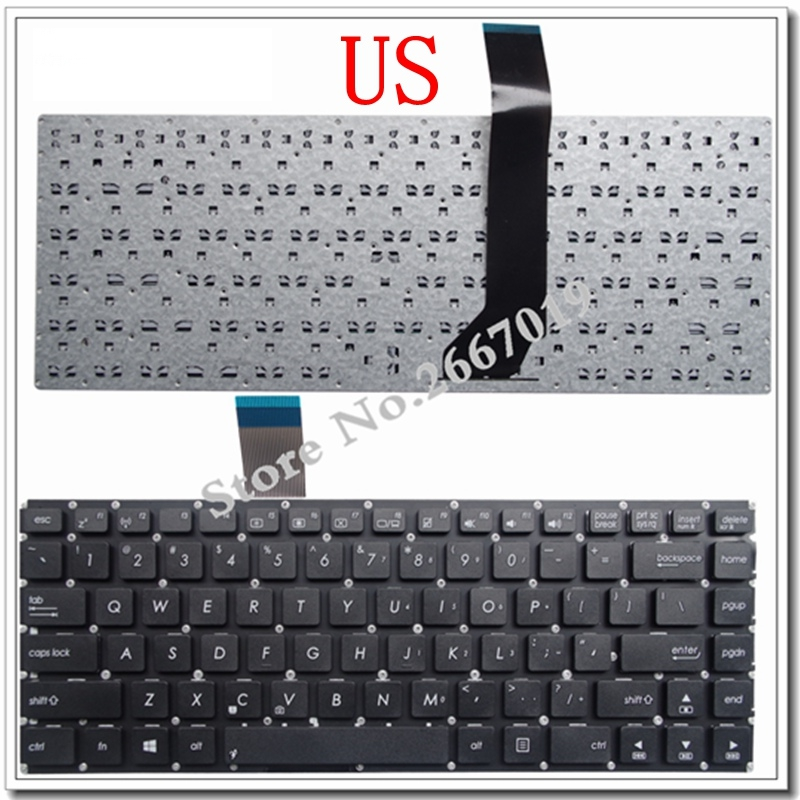 US New laptop keyboard FOR ASUS AK46 S46 S46C K46CM R405C E46C S405C K46