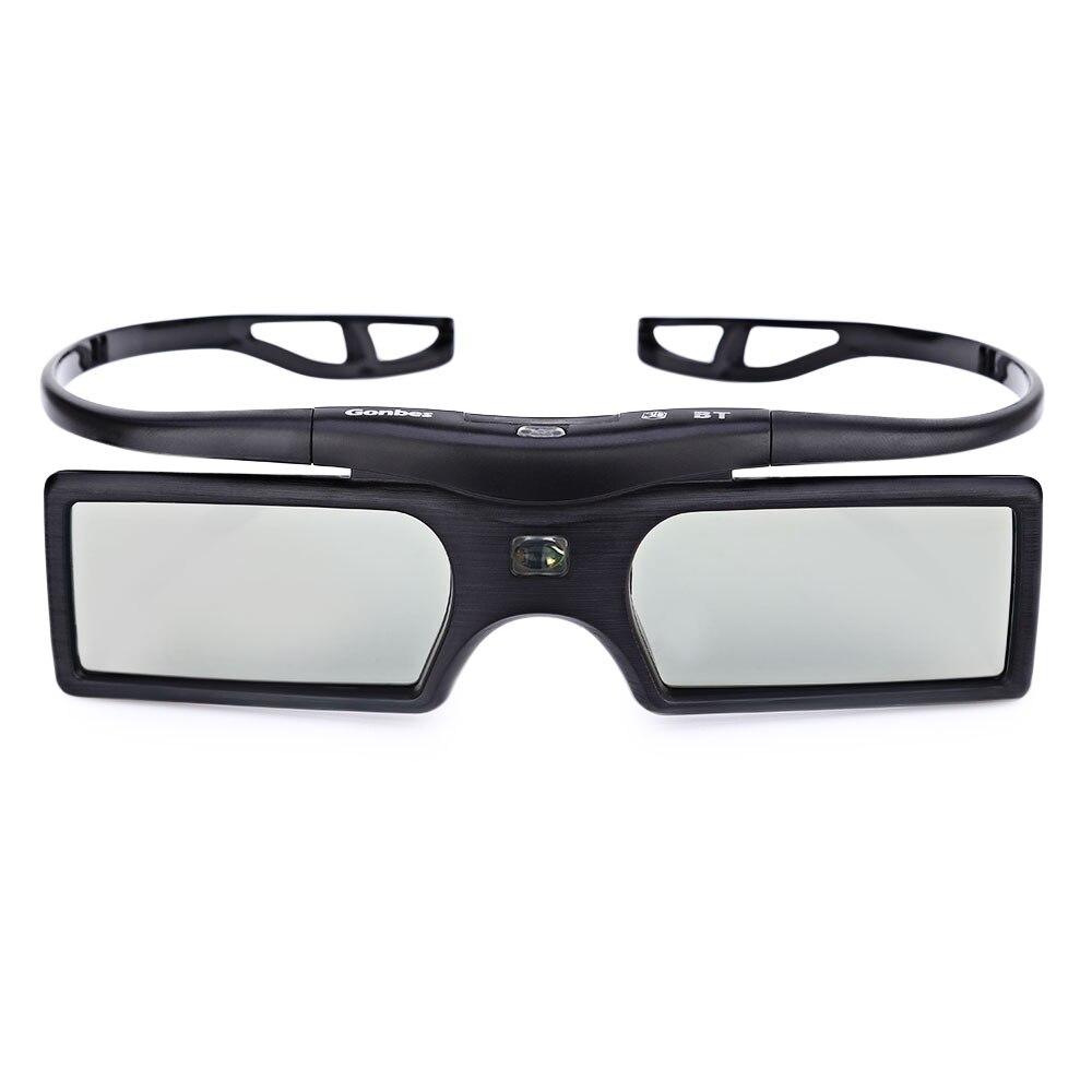 <font><b>Gonbes</b></font> G15-BT 3D Active Shutter Glasses TV Gafas Bluetooth LCD Lenses 3D HDTV Blu-ray Players Electronic Design Smart Glasses