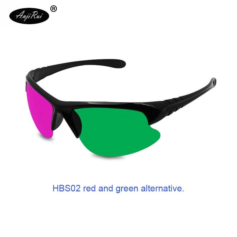 3D Gafas rojo azul/rojo verde plasma TV movie dimensional anaglyph ...