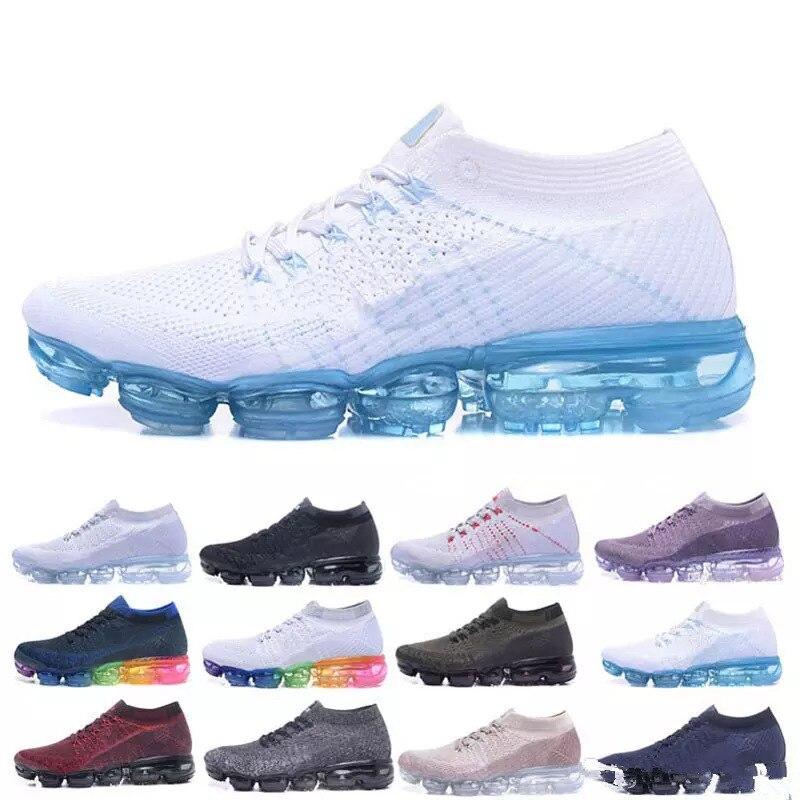 Vapormax chaussures de course hommes femmes classique en plein air course chaussure Sport marche athlétique baskets