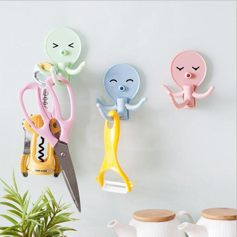 blue, pink, and coat hook image
