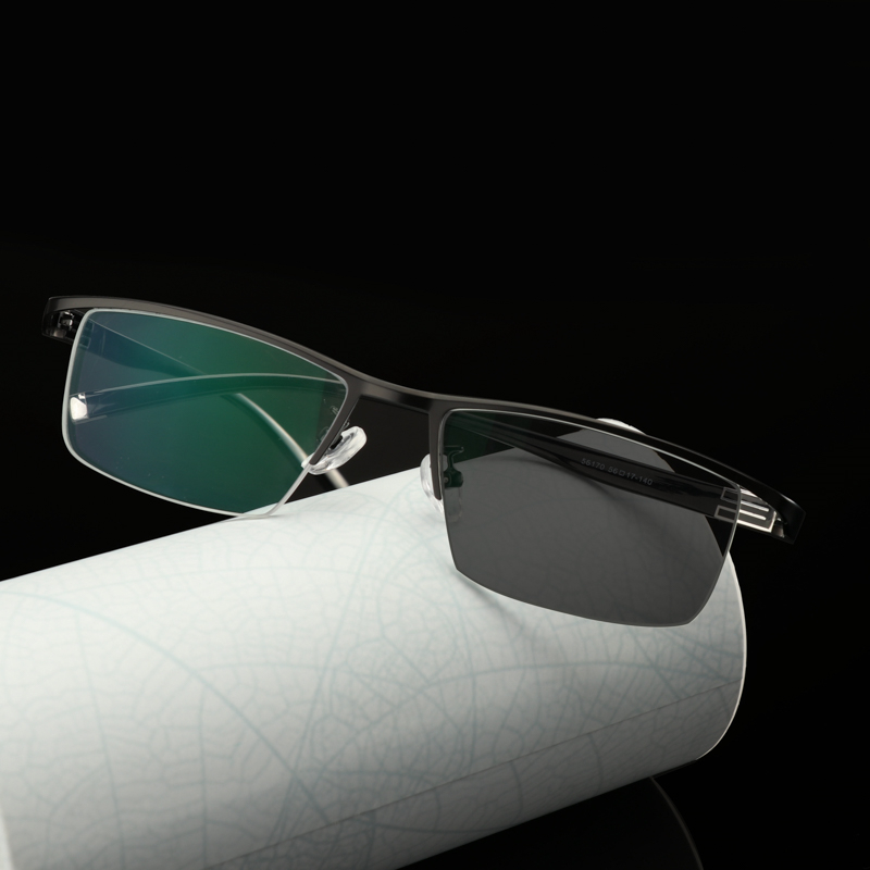 Myopia Sunglasses Photochromic Finished Men Women Myopia Eyeglasses Frame with color lens Sun glasses Myopia Eyewear 1 0 1 5 in Men 39 s Eyewear Frames from Apparel Accessories