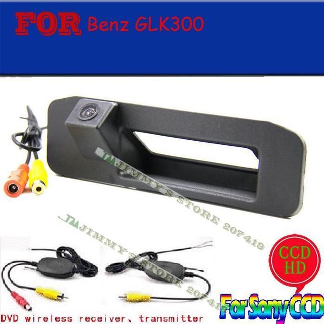 Sem fio gps dvd para sony câmeras ccd traseira do carro assistente de estacionamento para benz 2013 (mercedes) GLK GLK300 300 câmera pega tronco