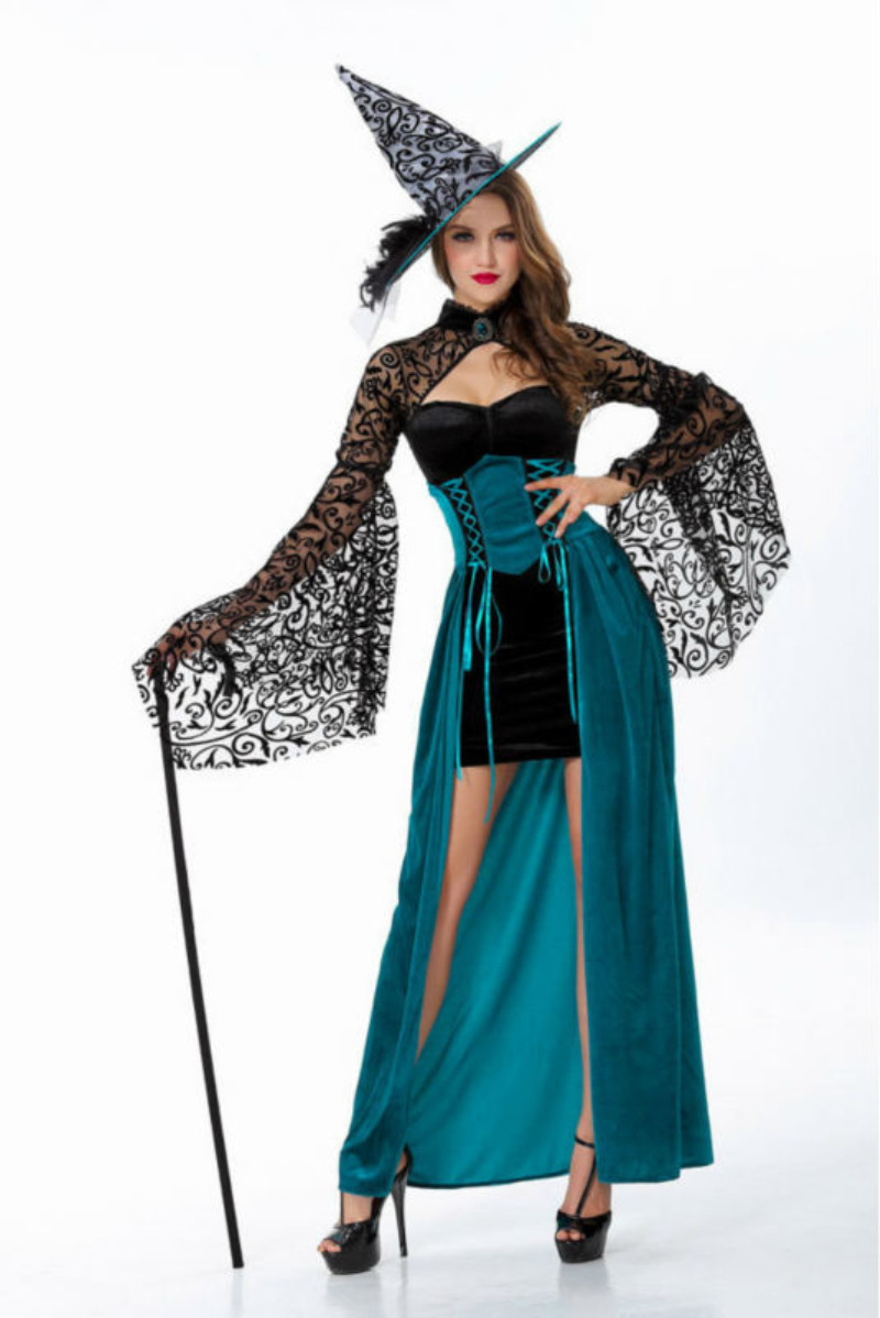 Aliexpress.com : Buy Adult Halloween Witch Costume For Women Sexy ...
