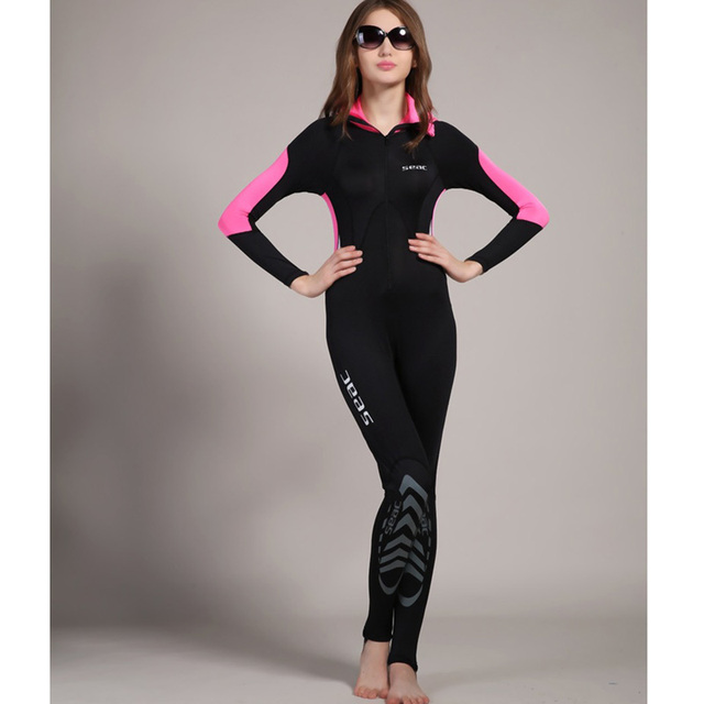 21affda7b0 US $31.22 20% OFF|Women's Full Body UV Sun Protection Lycra Swimwear Rash  Guard Lady Dive Skin Swimming Hoodies One Piece Surf Diving Suits UPF50+-in  ...