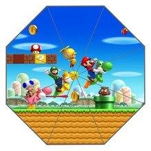 Mooie Super Mario Paraplu Custom Zonnige En Regenachtige Paraplu Ontwerp Draagbare Mode Stijlvolle Nuttig Paraplu Goede Gift