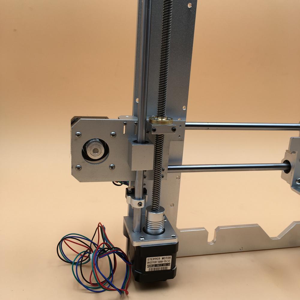 Reprap prusa I3 aluminio kit mecánico plata, marco de aluminio, X ...