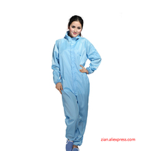 Anti static Clothing Clean Hooded Dust proof Clothes Spray Paint Overalls Protective clothing Cleanable suits Electrostatic