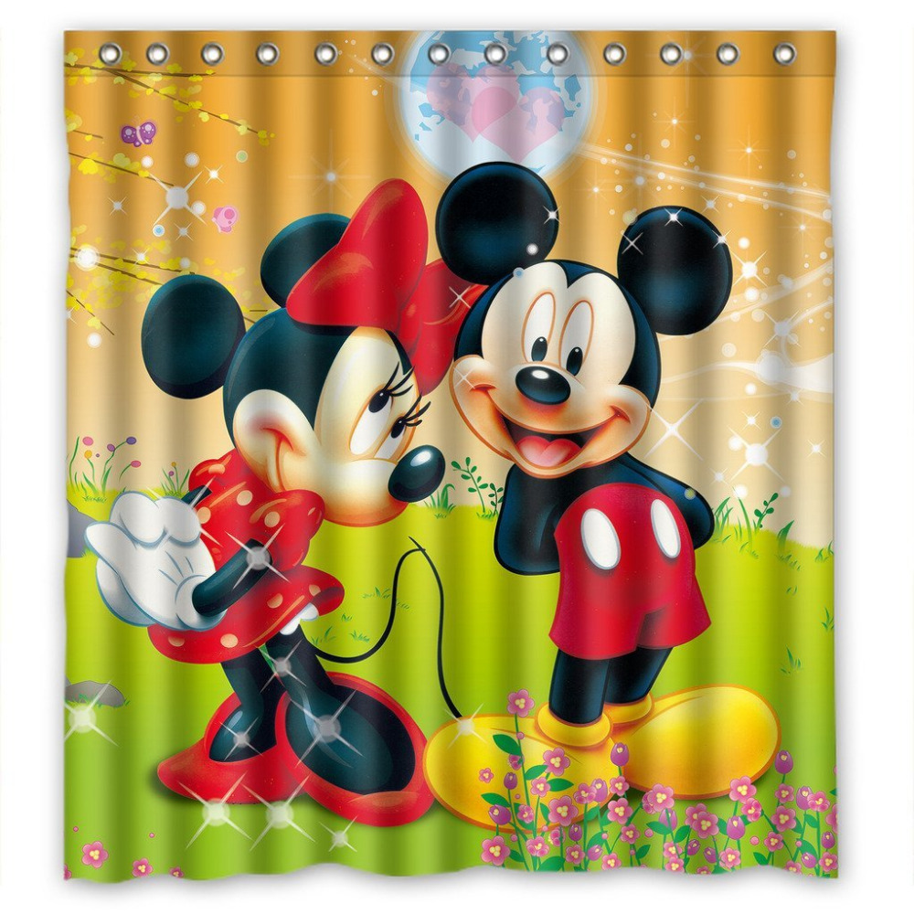 Online Get Cheap Minnie Mouse Curtains Alibaba Group