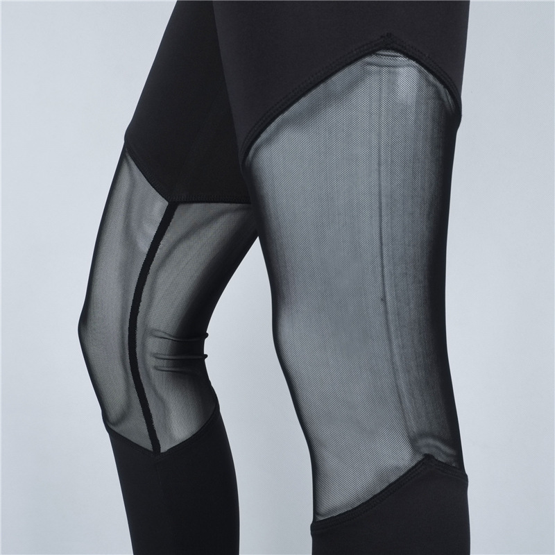 44be1c227556ae New Mesh Splice Sexy Running Tights Women Yoga Pants Gym Clothing for Women  Yoga Leggings Fitness Pants Mallas Mujer Deportivas on Aliexpress.com |  Alibaba ...