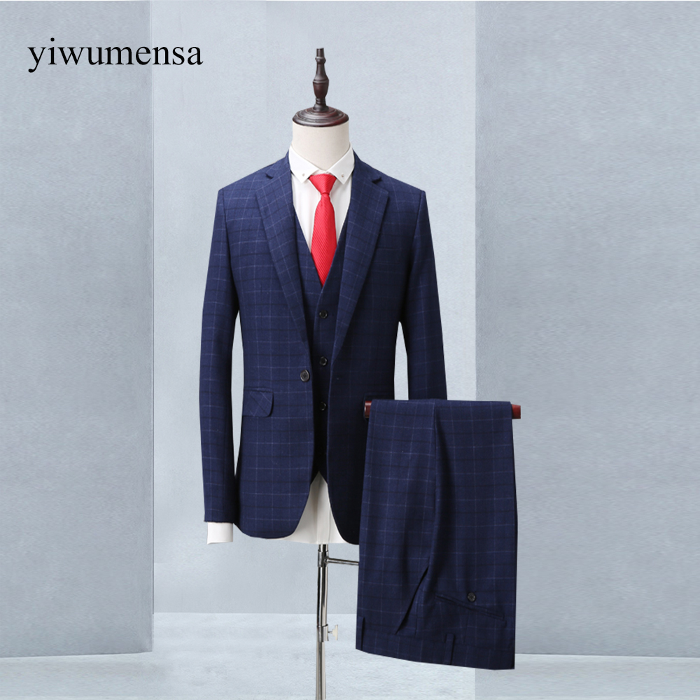 yiwumensa 2018 New Arrival costume homme mariage Custom made chinesisch mens satin suit traje boda hombre 3 prendas mens suits