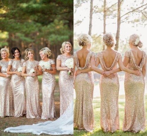Popular Gold Junior Bridesmaid Dresses-Buy Cheap Gold Junior ...
