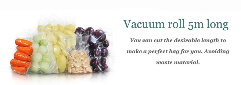 Plastic roll vacuum sealer description 2