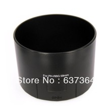 Wholesale 10PCS/LOT Free Shipping Camera Lens hood For PENTAX RBG (55-300)