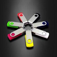 USB Flash drive promotion! Rotate colourful 2.0 4GB 8GB 16GB 32GB 64GB 128GB  Drive pen memory stick u disk