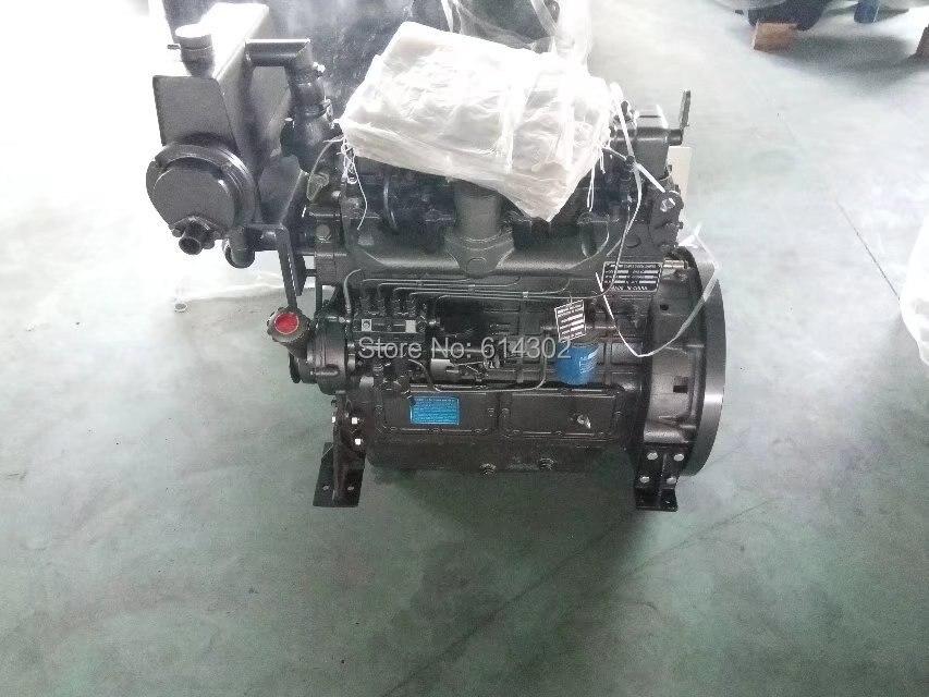 Moteur diesel marin de bateau du moteur 30.1kw Ricardo ZH4100C pour la puissance diesel marine de générateur diesel du fournisseur de la chine