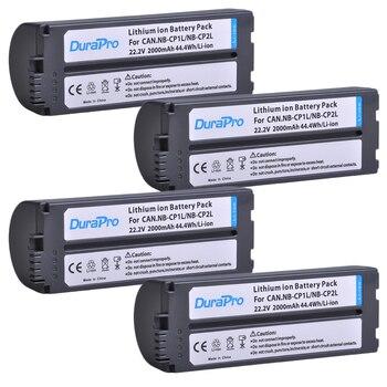 4Pc 2000mAh NB-CP2L NB CP2L NB-CP1L Battery for Canon NB-CP1L CP2L Photo Printers SELPHY CP800,CP900,CP910,CP1200,CP100,CP1300 фото