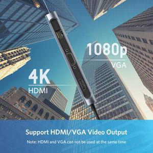 Image 2 - UGREEN USB HUB C HUB HDMI Adapter 10 in 1 USB C to USB 3.0 Dock for MacBook Pro Accessories USB C Type C 3.1 Splitter USB C HUB
