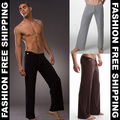 Men Pajamas Pants Slack Home Dress Nightgown drawstring  pants Men lounge pants Retail Size S M L