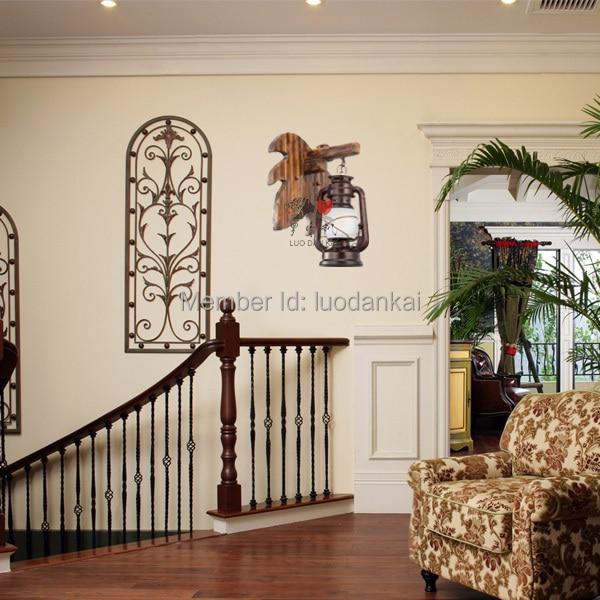 decoracin de bamb artesana nueva luz caliente de producto para apliques de pared para escaleras