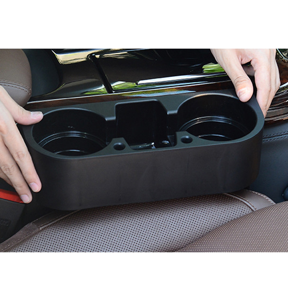 car interior organizer portable multifunction car auto cup holder vehicle seat cup cell phone. Black Bedroom Furniture Sets. Home Design Ideas