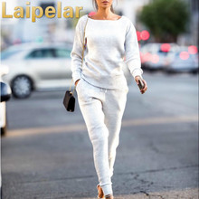 Autumn Tracksuit Women 2 Piece Sets Top And Pants Casual Sweatsuits Outfits Laipelar Sweat Suits Outwear