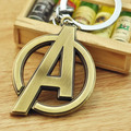 5pcs/lot Fashion New Metal Letters Keychain Plated Alloy Key Chains Simple Letter A Name Key Ring for Women and Men