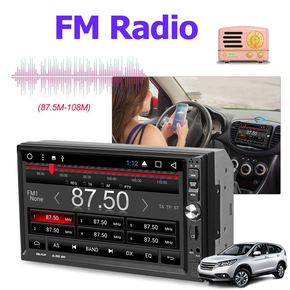 Vehemo 7 дюймов для дистанционного управления авто MP5 плеер MP5 плеер Автомобильный MP5 плеер Автомобильный заднего вида автомобиля стерео радио автомобиль MP5