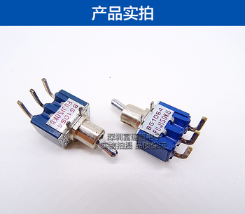 Japan FUJISOKU test unilateral self reset toggle switch head switch 3 feet import button switch