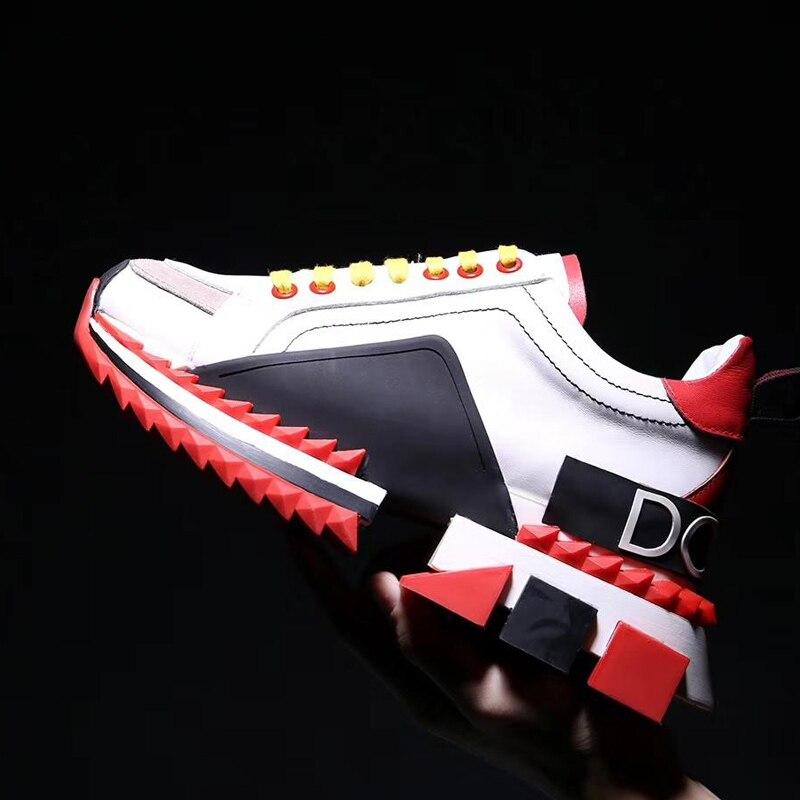 Espadrilles décontractées sans lacet chaussures hommes et femmes DGB chaussures de luxe de marque de luxe baskets multicolores pour homme chaussures de course femme euro 45
